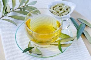 Olive Leaf Tea lower blood pressure